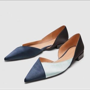 NWT Zara flat shoes size 38